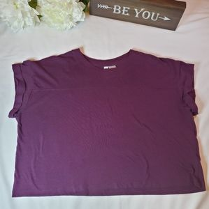 Women box crop top size S